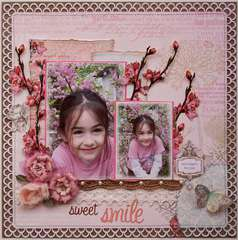 Sweet Smile **NEW! Webster's Pages 'Everyday Poetry!'**