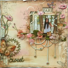 Sweet **VIDEO TUTORIAL** Shimmerz Paints & Dusty Attic