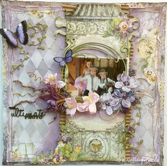 The Perfect Photo **The Scrapbook Diaries Kit Page**