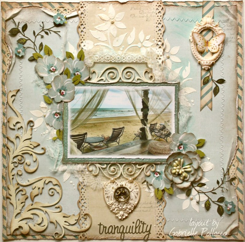 "Tranquil **NEW Websters Pages ""Plum Seed""**"
