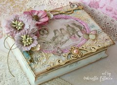 Book Style Keepsake Box w./Video Tutorial **Bo Bunny**