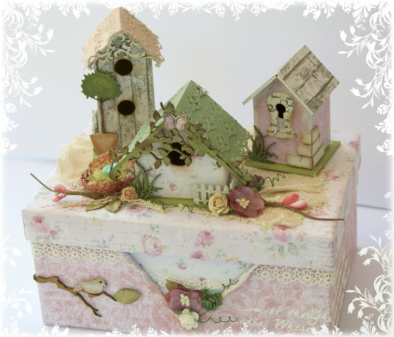 Whimsical Trinket Box **Dusty Attic & Maja Design**