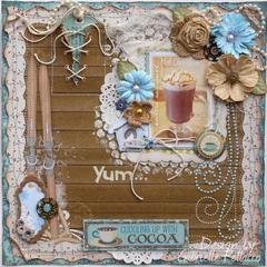 Yum....**Bo Bunny ~ Favourite Winter Drink**
