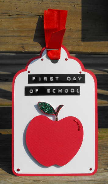First Day Of School Tag