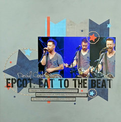 David Cook, EPCOT: Eat to the Beat