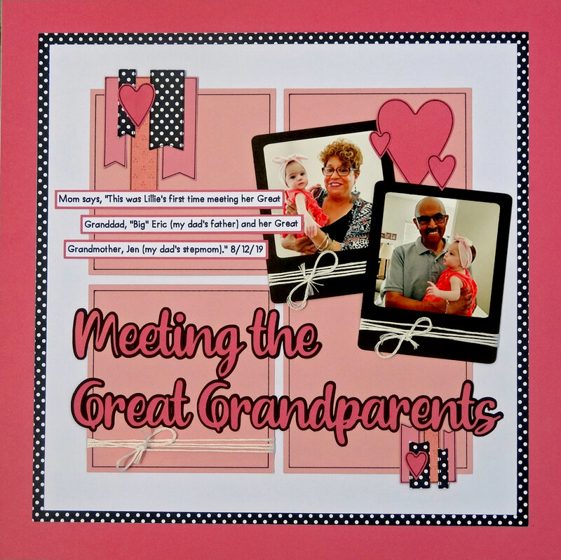 Meeting the Great Grandparents