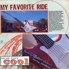 My Favorite Ride