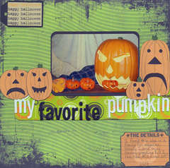 My favorite pumpkin