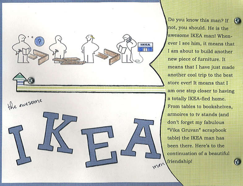 the awesome IKEA man