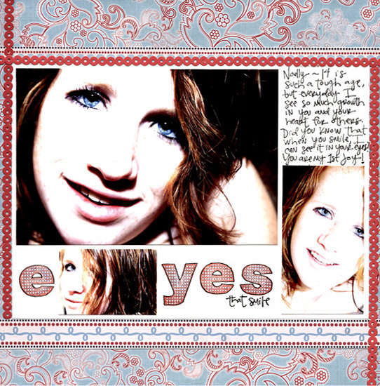 Eyes that smile sassafras lass by Kimberly Garofolo