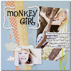 monkey girl by kimberly garofolo for sassafras
