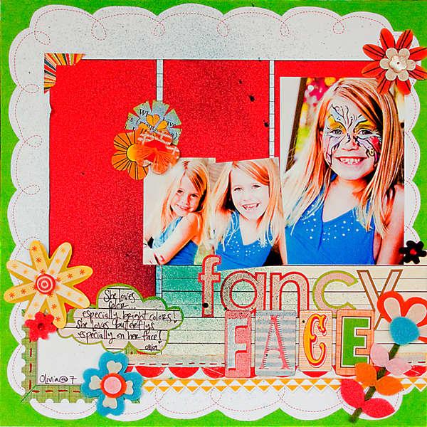 Fancy Face by Kimberly Neddo