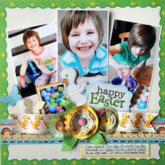happy easter by Vicki Boutin