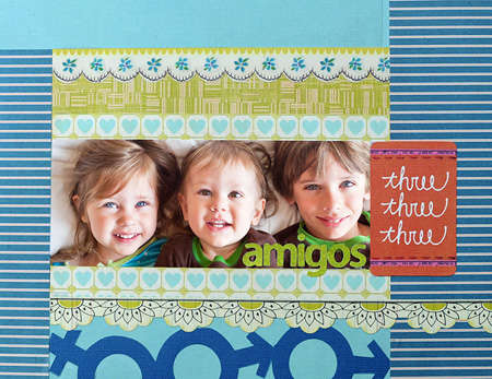 Amigos Three by Marla Kress