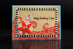 Starfish card by Marla Kress