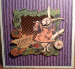 2nd Wonderland Halloween Tent Card