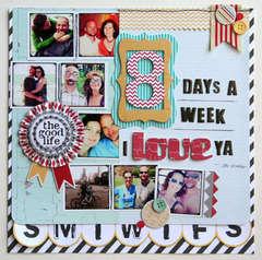 SUMMER CHA - The Good Life - 8 Days A Week