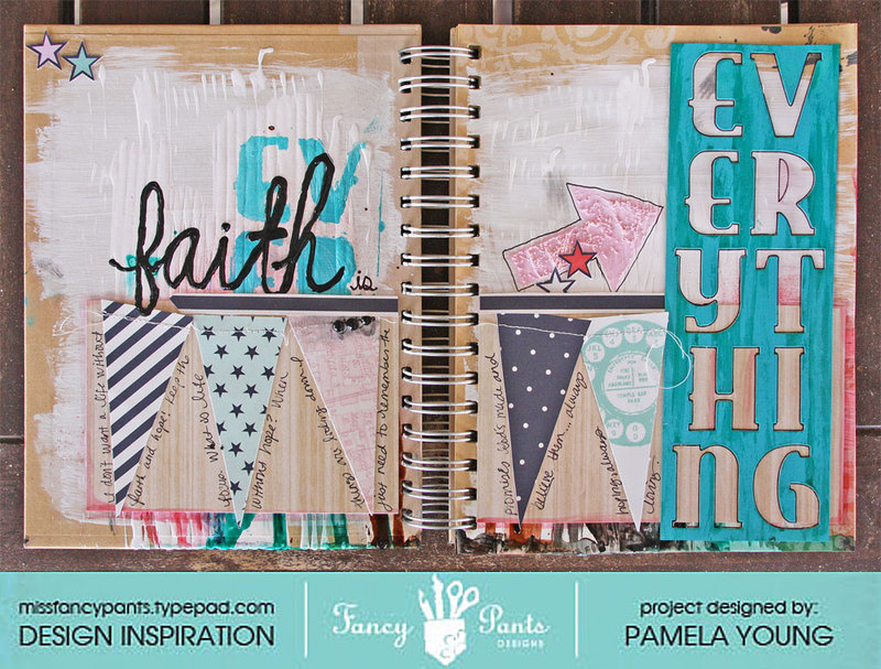 Faith Is Everything (art journal page)