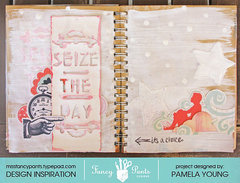 Seize The Day (art journal page)