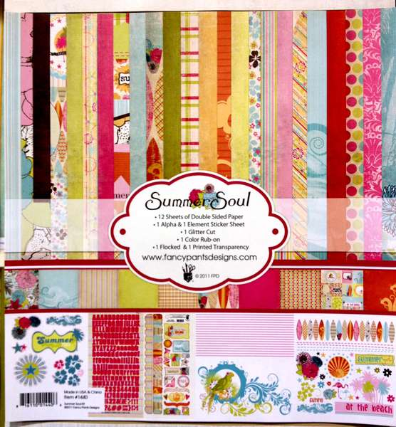 NEW Fancy Pants Designs CHA - Summer Soul Collection