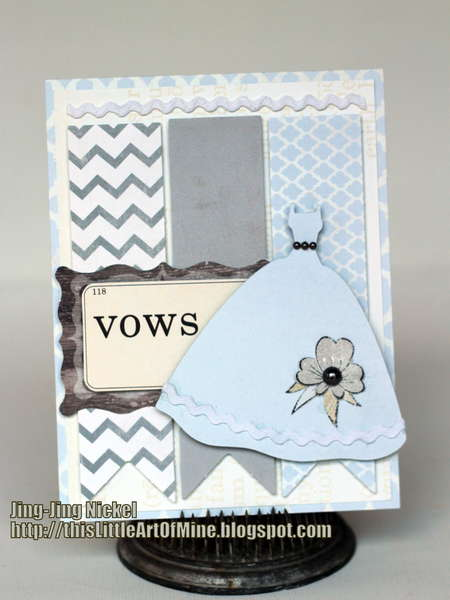 Wedding Card - Fancy Pants Country Boutique