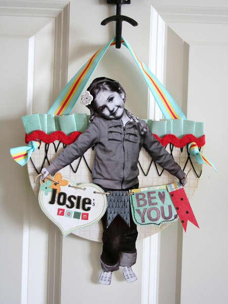 Josie's Room sign