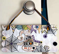 Halloween Door Hanger - *Fancy Pants* - Katja Schneider