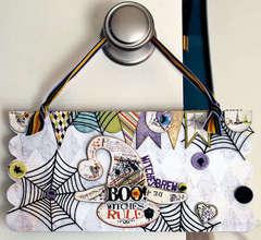 Halloween Door Hanger - *Fancy Pants* - Katja Schneider