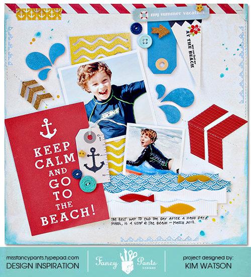 Keep Calm & Go to the Beach