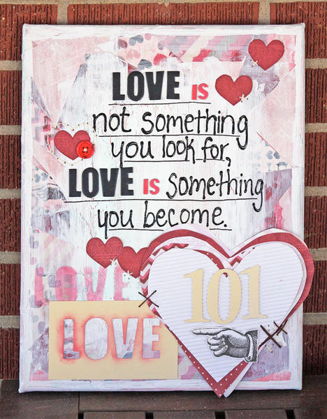 Love 101 Canvas
