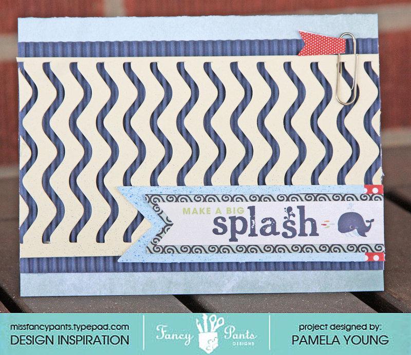 Make a Big Splash card