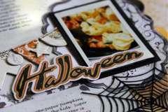 Halloween Layout by Rachel Tucker