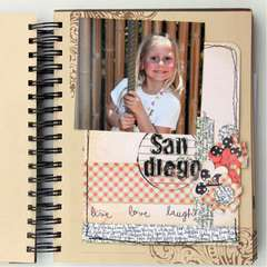 SanDiego USA mini album by Rachel Tucker