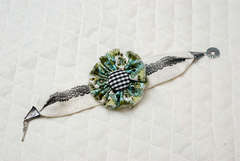 Fabric Stamped Bracelet ** FISKARS**