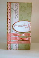 breast cancer awareness and support card