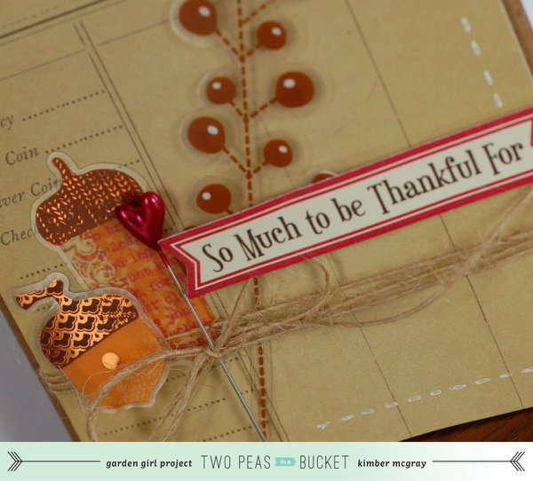Graditude: So Much To Be Thankful For card