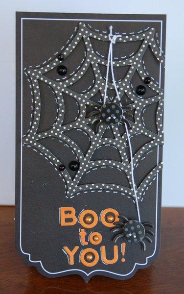 Halloween: Boo To You card