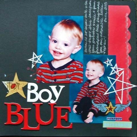 Boy blue..... Numbers Challenge