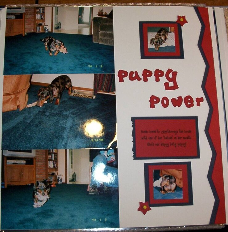 Puppy Layouts