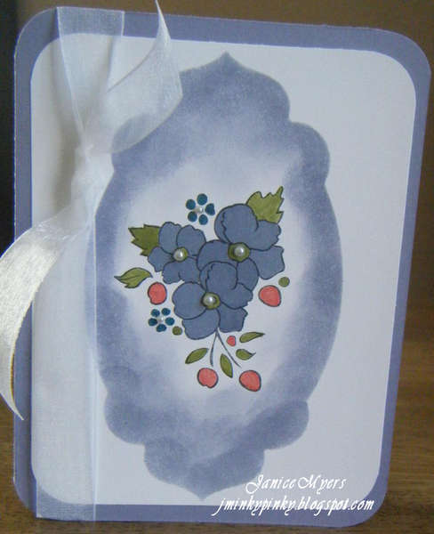 Wisteria Wonder flower card