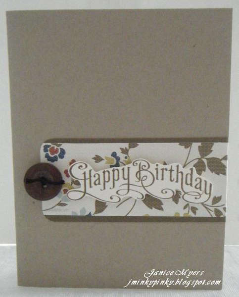 FAST birthday card