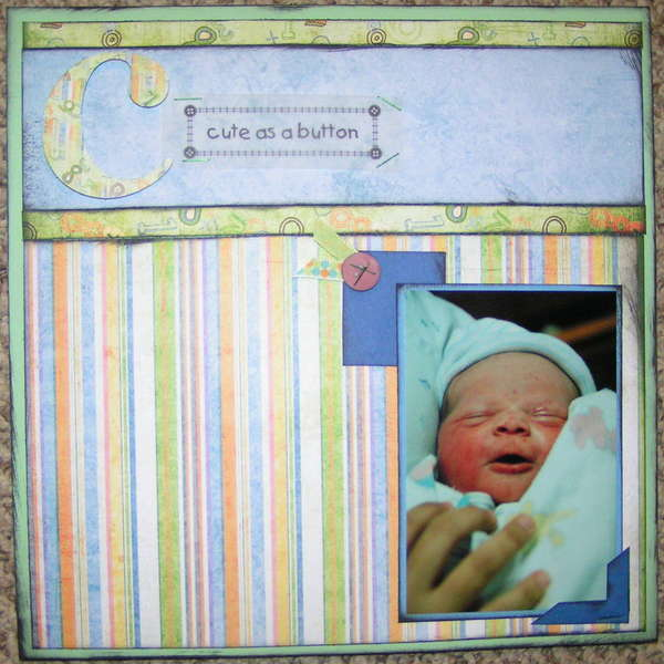 ABC_baby_album_C_is_for_cute_cuddly_cherished_page_1
