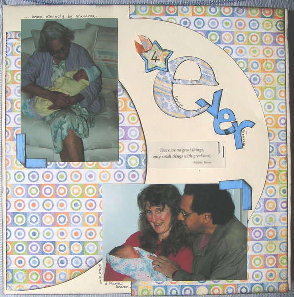 ABC_baby_album_e_is_for_everlasting_4Ever_page_1