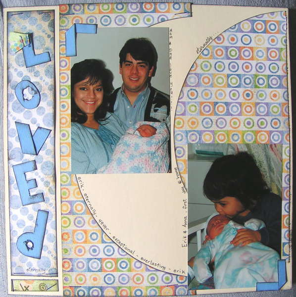 ABC_baby_album_e_is_for_everlasting_4Ever_page_2