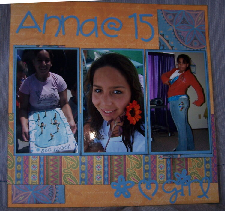 Anna @ 15