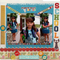 First Day of School 2nd grade