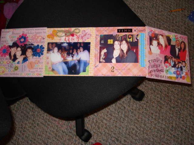 accordion mini book for my friend Robin