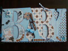 Baby Bo bunny book (shower gift)