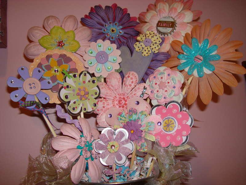 Up close of flowers (My moms batch)