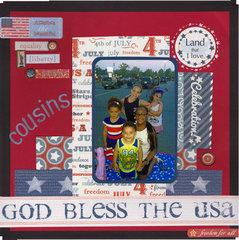 God Bless the USA Cousins